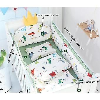 Baby Bed Bedding Kit Including Bumper, Cushin And Bed Sheet