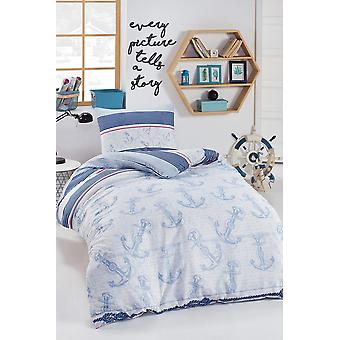 Junior Duvet Cover Set, Single Personality, Anchor