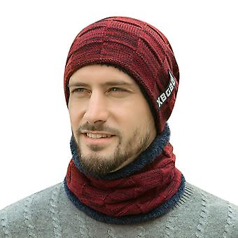 Ski Cold Warm Cap And Scarf Set - Men Fashion