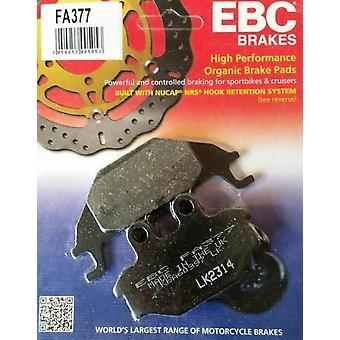 EBC FA377 Street Motorcycle Brake Pads Rear Yamaha MT-125 MT-125A 2014-2018
