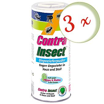 Sparset: 3 x FRUNOL DELICIA® Contra Insect® Ungeziefer-Puder, 250 g