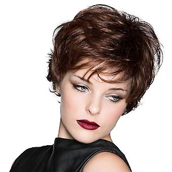 Brand Mall Wigs, Lace Wigs, White Wig Realistic Short Curly Hair