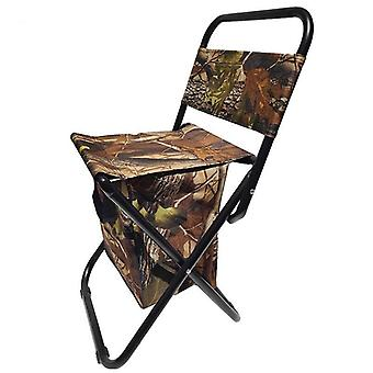 Opvouwbare campingvissersstoel/kruk