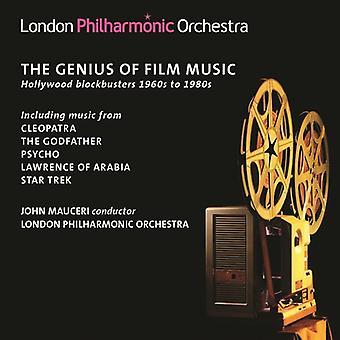 Herrman / London Philharmonic Orchestra / Mauceri - Genius of Film Music: Hollywood Blockbusters 1960s [CD] USA import