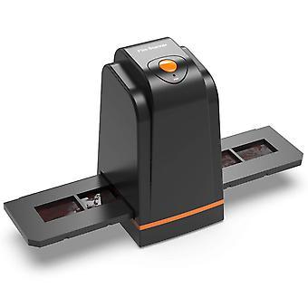 Scanner de filme de alta resolução de 35mm converte slide e filme negativos em foto digital, suporta janelas
