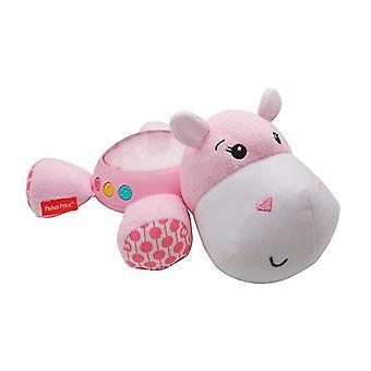 Fisher-pris hippo plysch projektion lugnare - rosa
