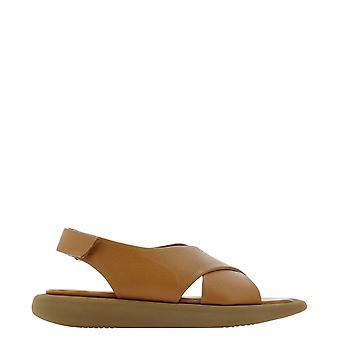 Paloma Barceló Jataupunapasoftcuoio Women's Brown Leather Sandals