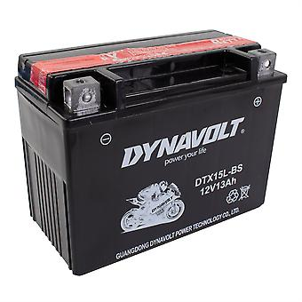 Dynavolt DTX15LBS Maintenance Free Battery With Acid Pack YTX15L-BS