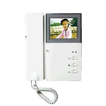 """4.3"""" Lcd Video Intercom, Deurbelsysteem, Tweerichtingsaudio met handset"""