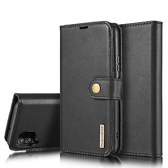 Dg. MING Samsung Galaxy A12 Split Leather Wallet Case
