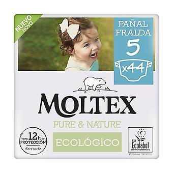 Moltex Pure & Nature T5 diapers (13-18 kg) 44 units