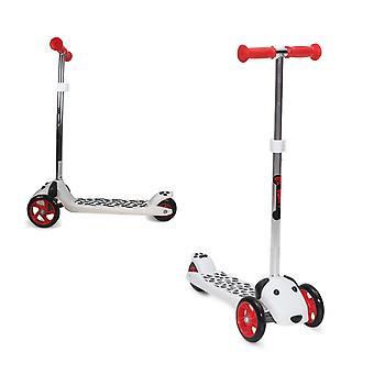 Kinder scooter buddy, PU wielen, in hoogte verstelbaar, hond ontwerp, vanaf 3 jaar