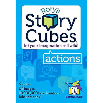 Official Rory's Story Cubes Game: Actions Family Home Fun Lockdown Quarantine Isolation