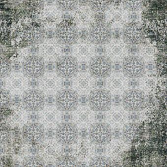 Moderne Keuze 3 Veelkleurig Bedrukt Tapijt in Polyester, Katoen, L100xP200 cm