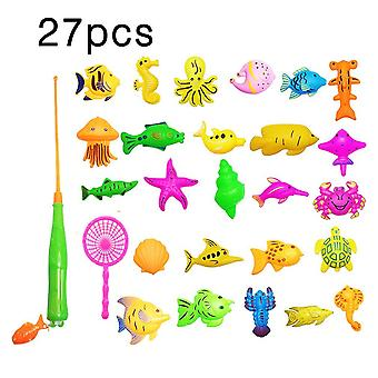 39pcs Set Plastic Magnetic Fishing Game