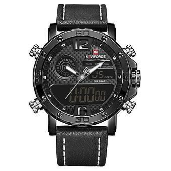 Herren Uhren, Datum wasserdichte Quarzuhr, männliche Military Sport Armbanduhr