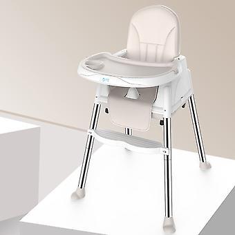 قابل للتعديل الكراسي العالية الطفل عشاء طاولة كرسي متعدد الوظائف للطي