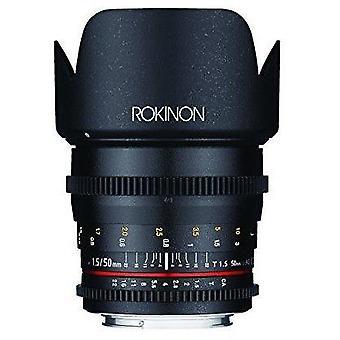 Rokinon ds50m-nex cine ds 50 mm t1.5 comme si umc full frame cine grand angle len...