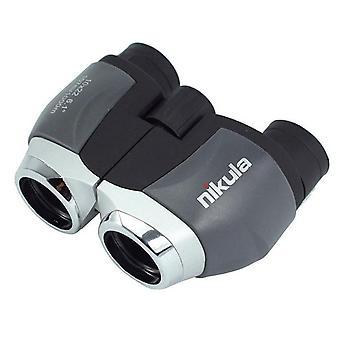 Genuine telescope nikula 10x22 hd binoculars fun sports game concert telescopio spotting scope mini for fishing portable outdoor