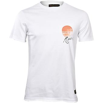 Replay Tiger Print T-Shirt, White