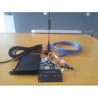 DIYキット 100 khz から 1.7 ghz すべてのバンド ラジオ rtl sdr 受信機 rtl2832 + r820t