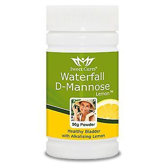Sweet Cures Waterfall D-Mannose Powder Lemon 50g