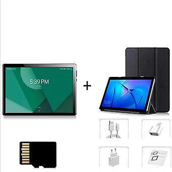"10.1"" Android-9.0, Octa Core Tablet, Pc & Dual Sim -kortti, Gps Wifi Bluetooth,"