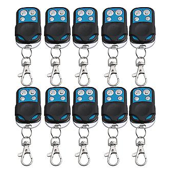 10PCS 4CH433MHz RF Wireless Remote Control Learning Code 1527 Chip Garage Door