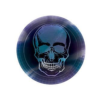 8 Boneshine Fever 23 cm kartonnen skeletplaten