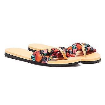 Havaianas You Saint Tropez Womens Peach / Multi Flip Flops