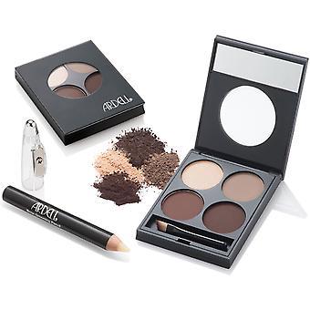 Ardell Brow Defining Kit Powdered Long Last Natural Shade Professional Eyebrows
