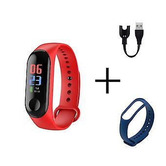 Фитнес-экран Smart Спортивный браслет, Деятельность Запуск Tracker, пульс,
