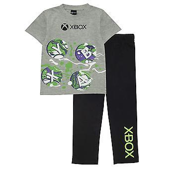 Xbox Boys-handkontrollknappar Pyjamas Set