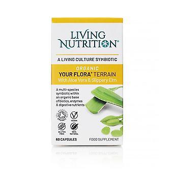 Living Nutrition Your Flora Terrain Caps 60 (LN2011)