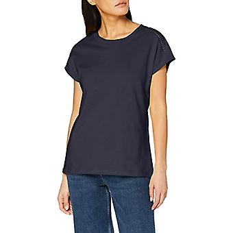 ESPRIT 020EE1K417 T-Shirt, 400/Navy, XL Women