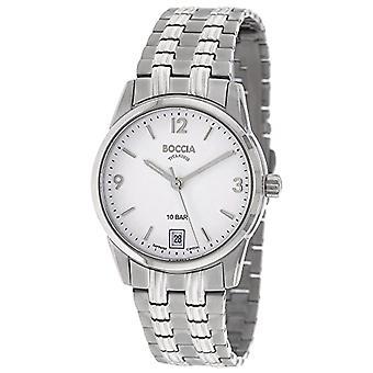 Boccia Analog Quartz Watch Woman with Titanium Strap 3272-01