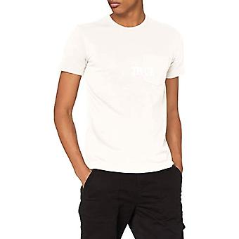 True Religion SS Tshirt Pocket T-Shirt, White, S Men