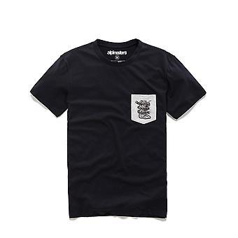 Alpinestars Service Premium Pocket Kort ärm T-shirt i svart