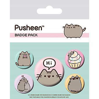 Pusheen - Pusheen sagt Hallo Abzeichen Pack