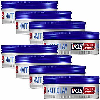 VO5 Extreme Style Extra Hold Matt Hair Clay, 8Pk - 75ml