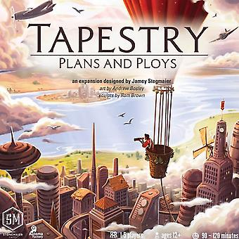Tapestry: Plans & Ploys Expansion Board Game