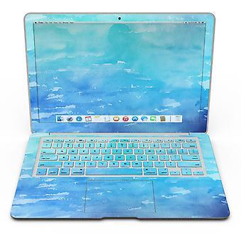 Textură acuarelă albastră 082 absorbită - Macbook Air Skin Kit