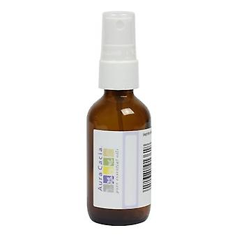 Aura Cacia Empty Amber Mister Bottle with Writeable Label, 2 oz