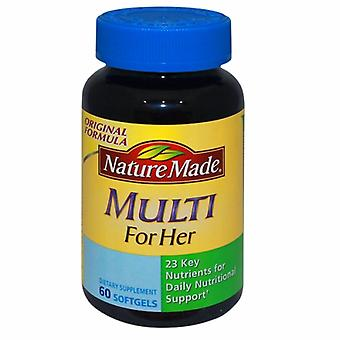 Nature Made Multi For Her, 60 Soft gels
