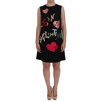 Dolce & Gabbana Musta San Valentino Crystal Shift Mekko