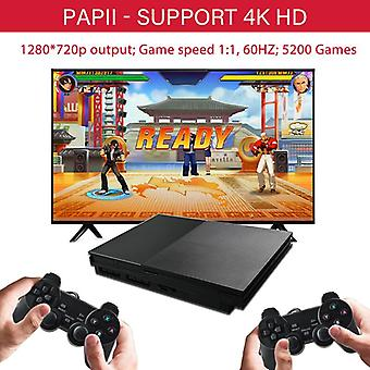 Newzuidid xpro video game console ps1 hd tv game 64bit classic family retro games x pro box pap ii video game player 5200 games