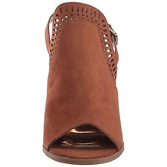 Carlos by Carlos Santana Womens Trinity Suede Peep Toe Casual Ankle Strap Sandals