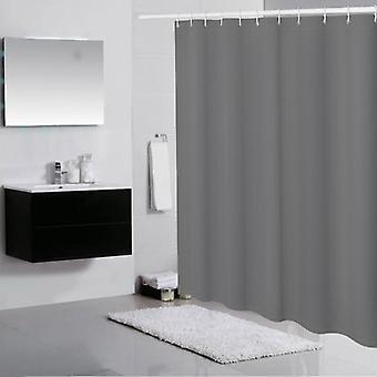 Yksivärinen kylpyhuone Polyesterikangas Sakeuttaa vedenpitävä verho (sarja 2)