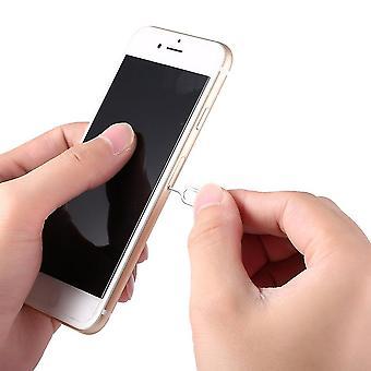 Sim bandeja de cartão abrir ferramenta de agulha pin pin para Apple Iphone 3g 3gs 4 4s 5