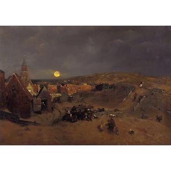 Scheveningen,Andreas Achenbach